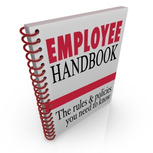 Employee Handbook Rules Policies Follow at Work Guidelines